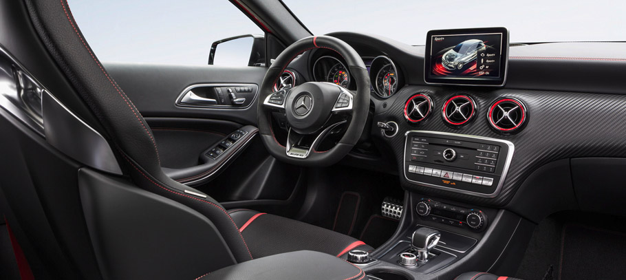Mercedes-Benz A-Class Facelift Interior