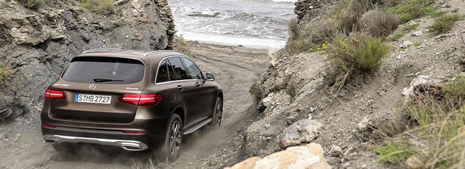 2016 Mercedes-Benz GLC  Rear View