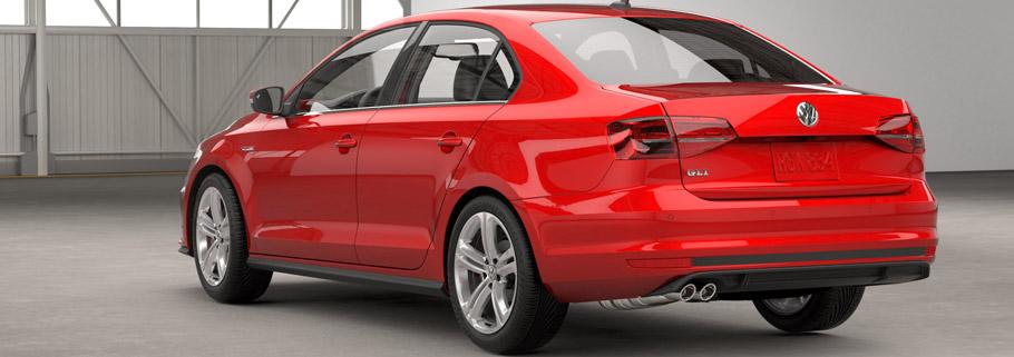 2016 Volkswagen Jetta GLI Rear View