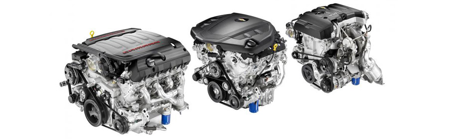 2016 Chevrolet Camaro Convertible Engine Range