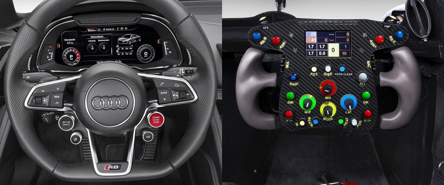 Audi R8 and Audi R8 LMS
