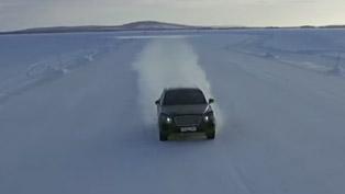 bentley bentayga previewed during winter testing in sweden [video]