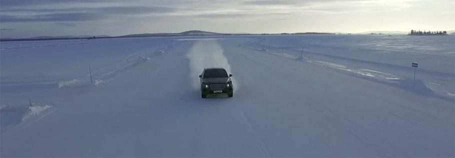 Bentley Bentayga Testing