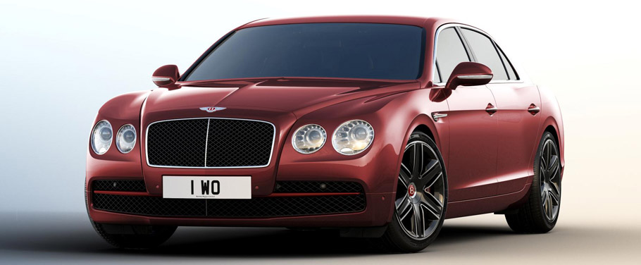 Bentley Flying Spur Beluga Front View