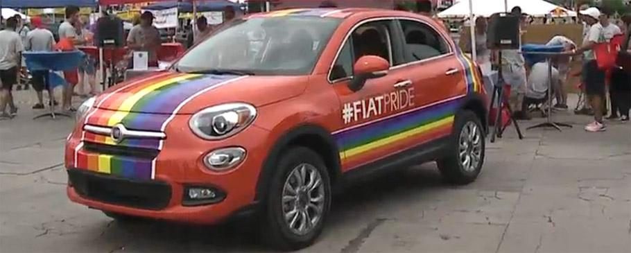 Fiat 500X Rainbow