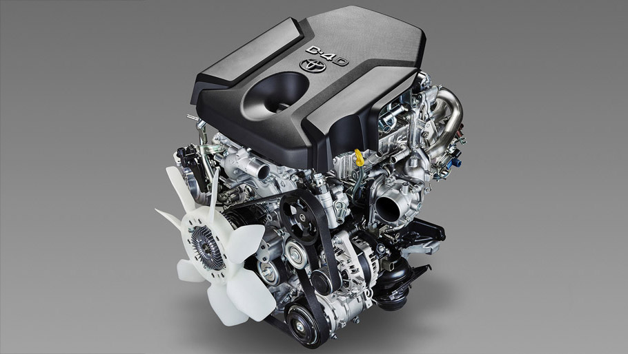 2.8-litre Global Diesel (GD) Engine