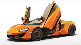 McLaren 570S Coupe is Making Dynamic Debut at Goodwood