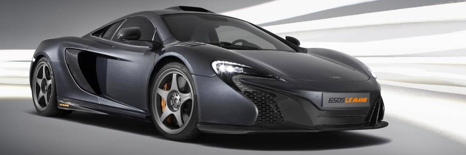 McLaren 650S Le Mans Side and Fron View