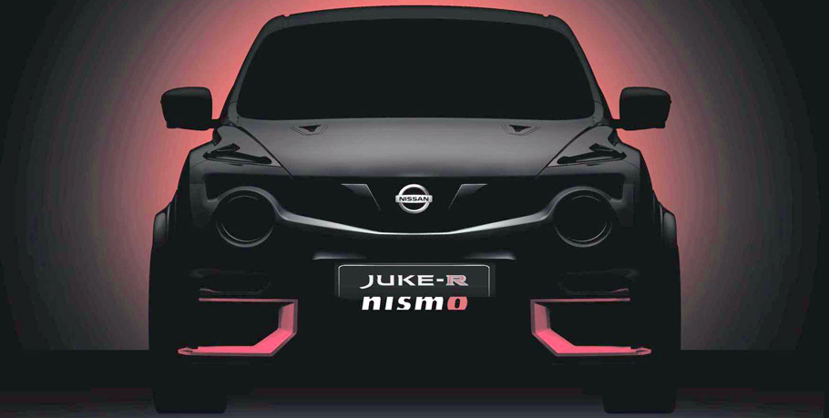 2015 Nissan Juke-R Nismo Teaser Lightened Up
