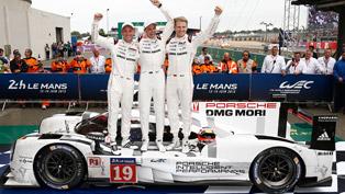 porsche vehicles and the le mans 24-hours race