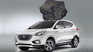 Hyundai Tucson Fuel Cell and California Drivers Make a Lunar Visit