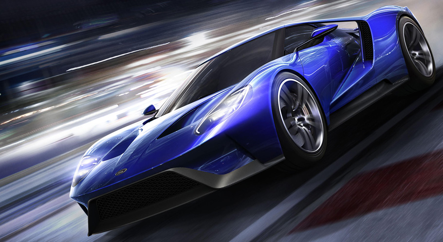 Forza 6 Ford GT Cover