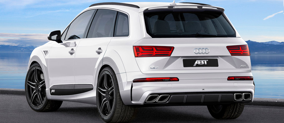 ABT Audi Q7 Rear View