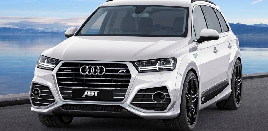 ABT Audi Q7 Front View