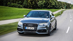 abt sportsline gives more power to audi s3 limo