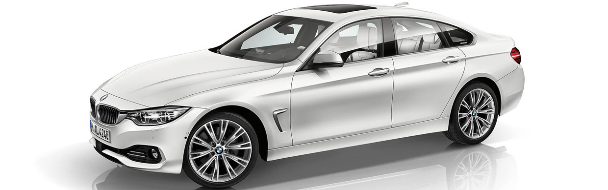 BMW Individual 4-Series Gran Coupe in BiColor Exterior