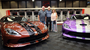 what is to own a total of 79 dodge vipers?