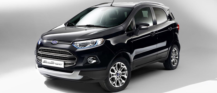 Ford EcoSport Euro-Spec Front View