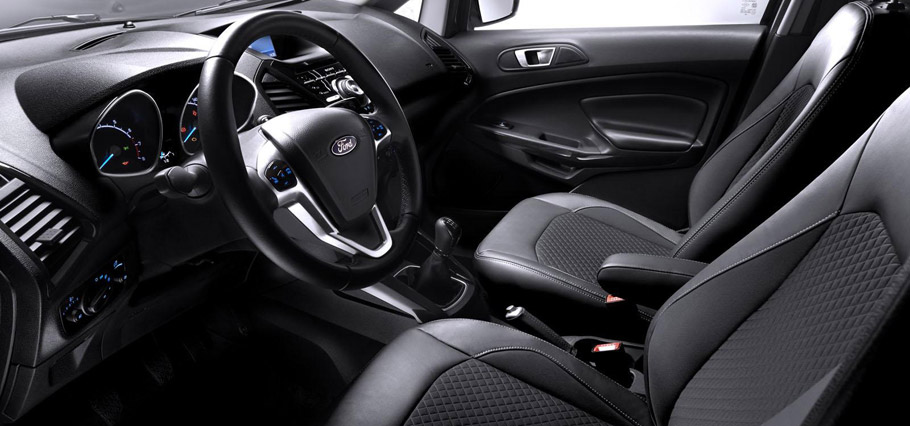 Ford EcoSport Euro-Spec Interior