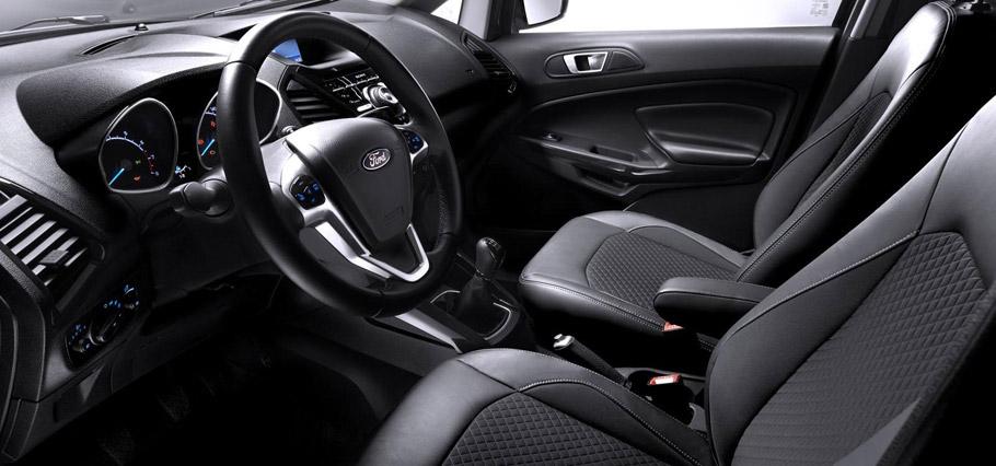 Ford EcoSport Euro-Spec Interior