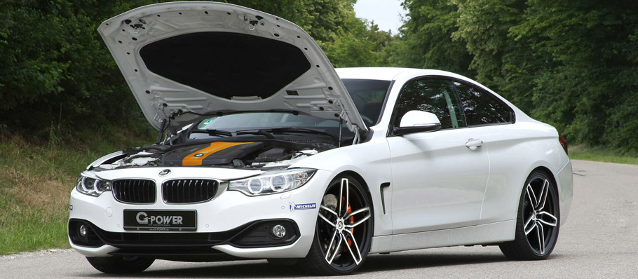 G-Power BMW 435d xDrive F32  with Open Hood