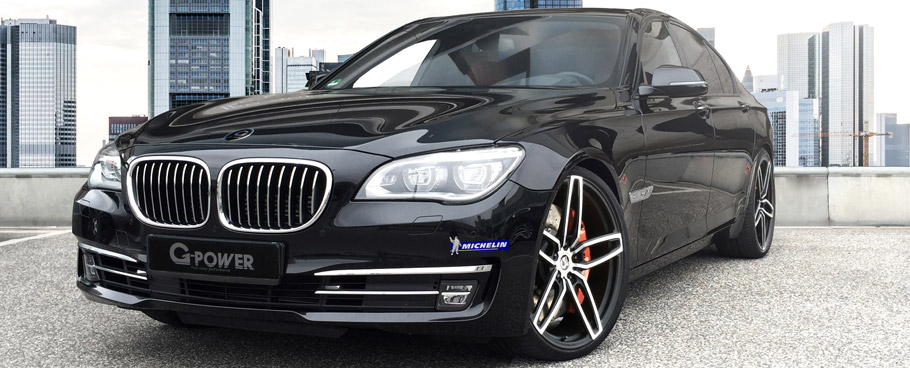 G-Power BMW 760i Front View