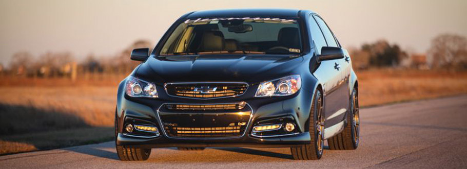 Chevy SS HPE600 Supercharged Front View