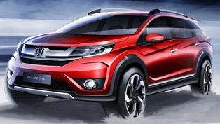 Honda BR-V Prototype Is Coming Our Way!