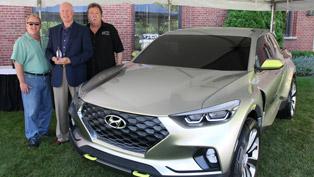 Hyundai Santa Cruz Crossover Truck Concept Took Prestigious Award