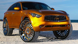 Infiniti FX With 32-Inch Wheels. Eccentric or Ridiculous?