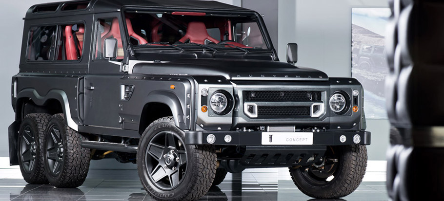 Kahn Flying Huntsman 6X6 Concept Front View