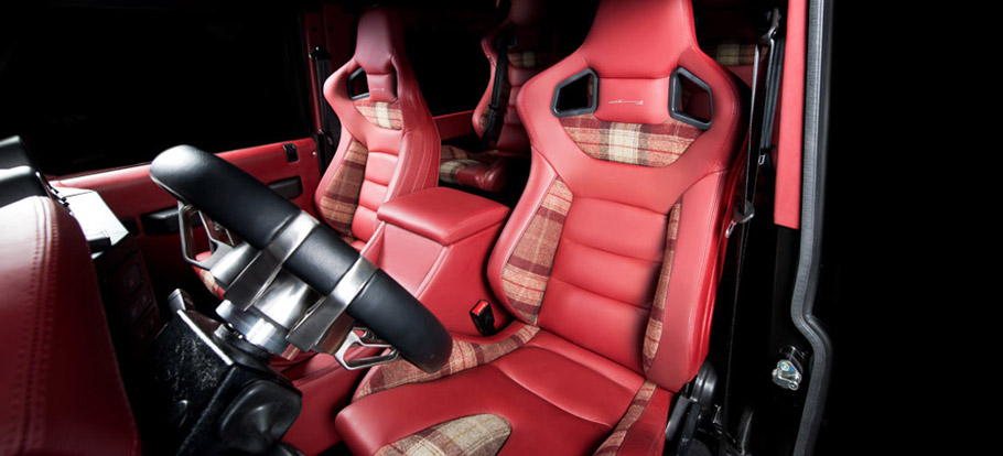 Kahn Flying Huntsman 6X6 Concept  Interior
