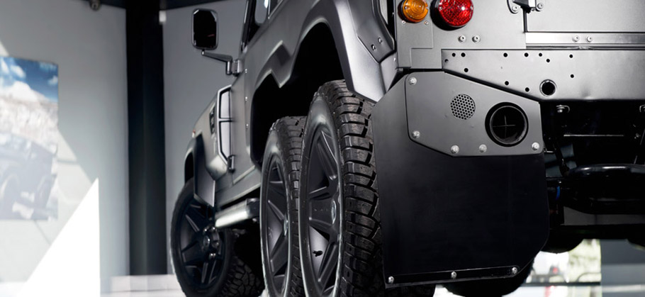 Kahn Flying Huntsman 6X6 Concept Rear View