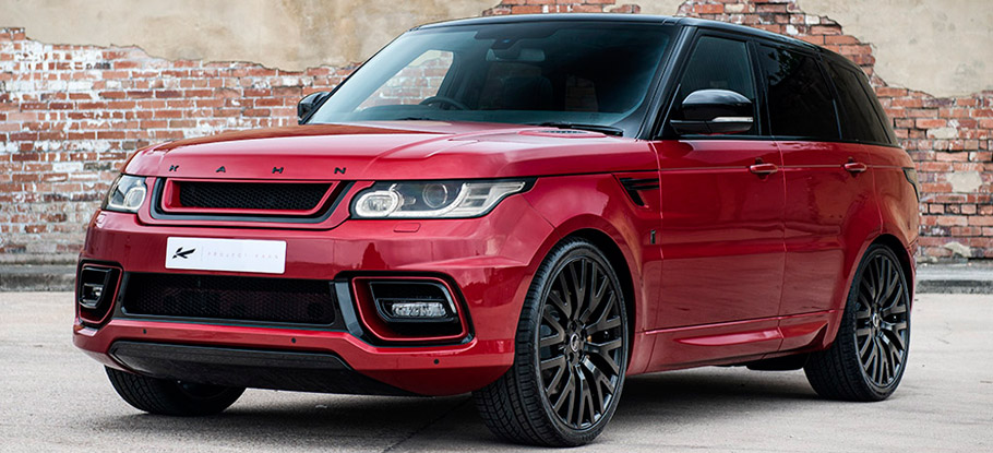 Kahn Range Rover Sport 400LE front and side view