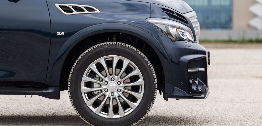 LARTE Design Infiniti QX80 LR3 Wheels