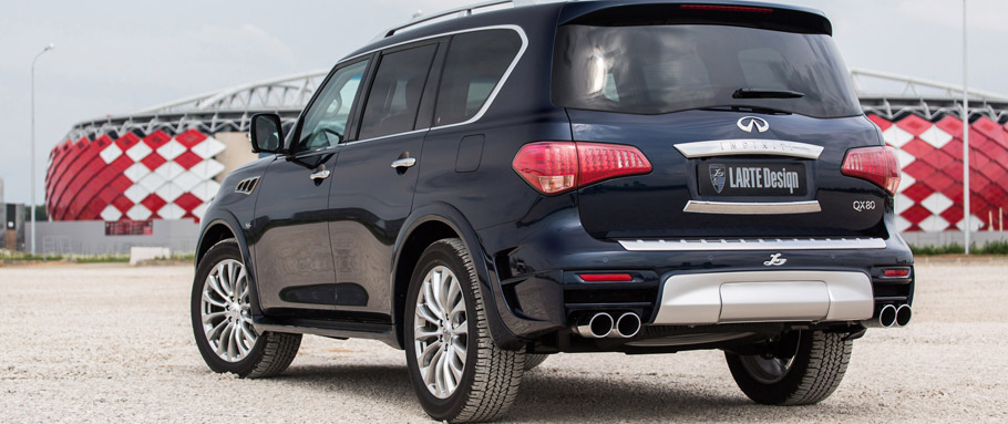 LARTE Design Infiniti QX80 LR3  Rear View
