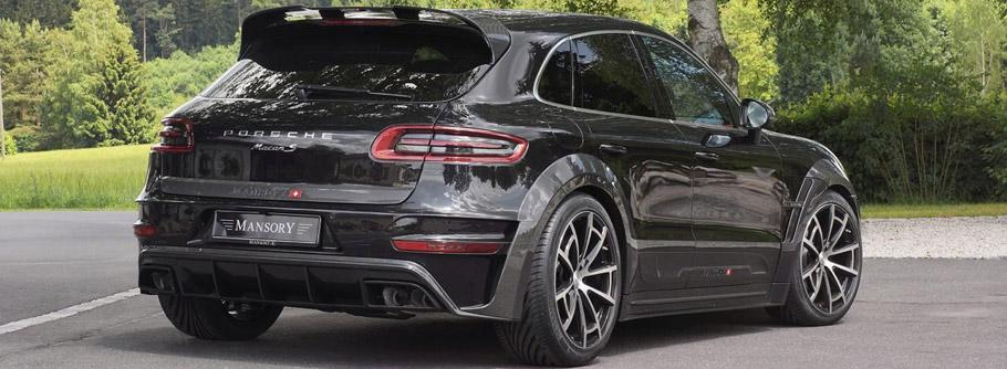 MANSORY Porsche Macan  Rear View