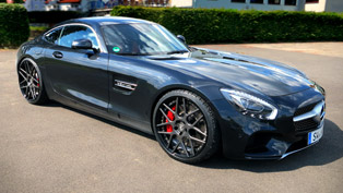Mercedes GT S And LOMA Wheels. Sunning Looks and Advanced Technology