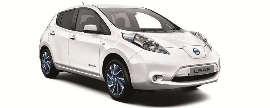 Nissan Leaf Range - Acenta+ Trim Front View