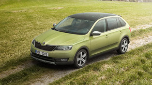 Skoda Rapid Spaceback ScoutLine Boasts Unexpected Features and Emotional Appeal