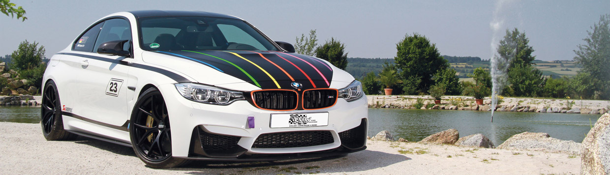 TVW Car Design BMW M4 DTM Champion Edition Front View