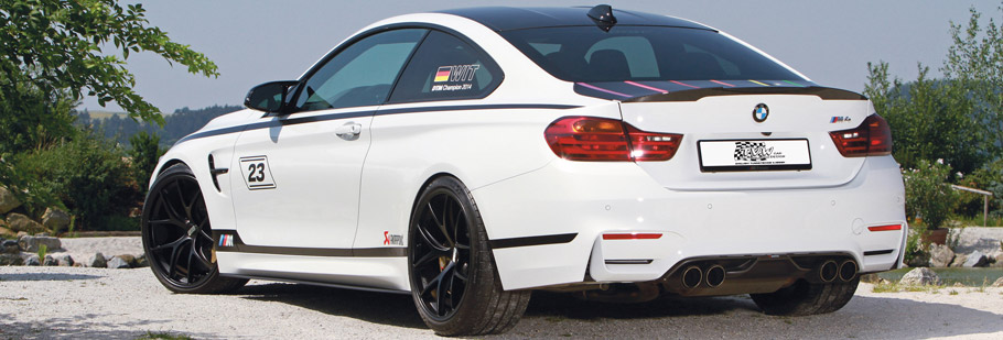 TVW Car Design BMW M4 DTM Champion Edition Rear View