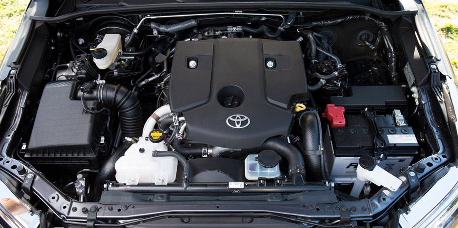 2015 Toyota Fortuner's Diesel Engine