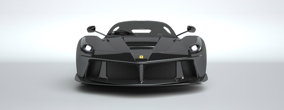 Ferrari LaFerrari in Carbon Fibre Skin