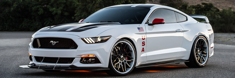 Ford Apollo Edition Mustang Front View