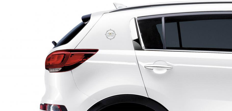 Kia Sportage Axis Limited Edition Partial View