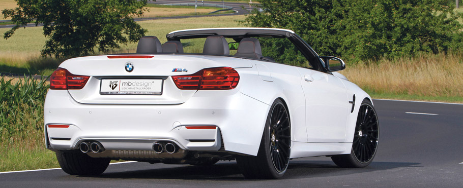 mbDESIGN BMW M4 Convertible  Rear View