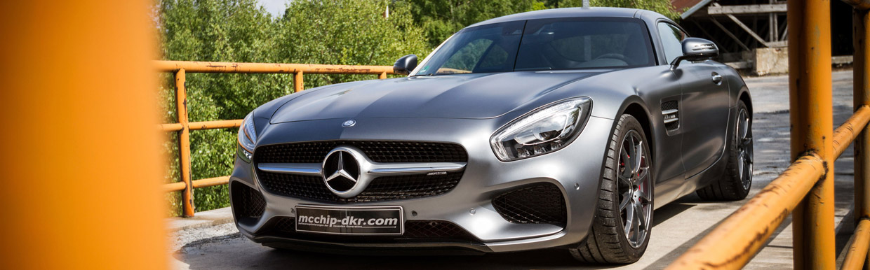 mcchip-dkr Mercedes-AMG GT Front View