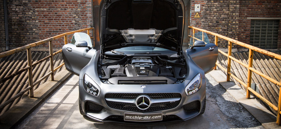 mcchip-dkr Mercedes-AMG GT with uprated engine