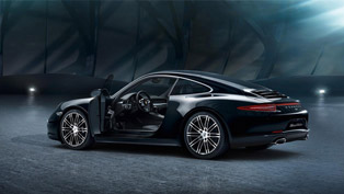See How Porsche 911 Carrera Black Edition is Born Out of Ink [VIDEO]